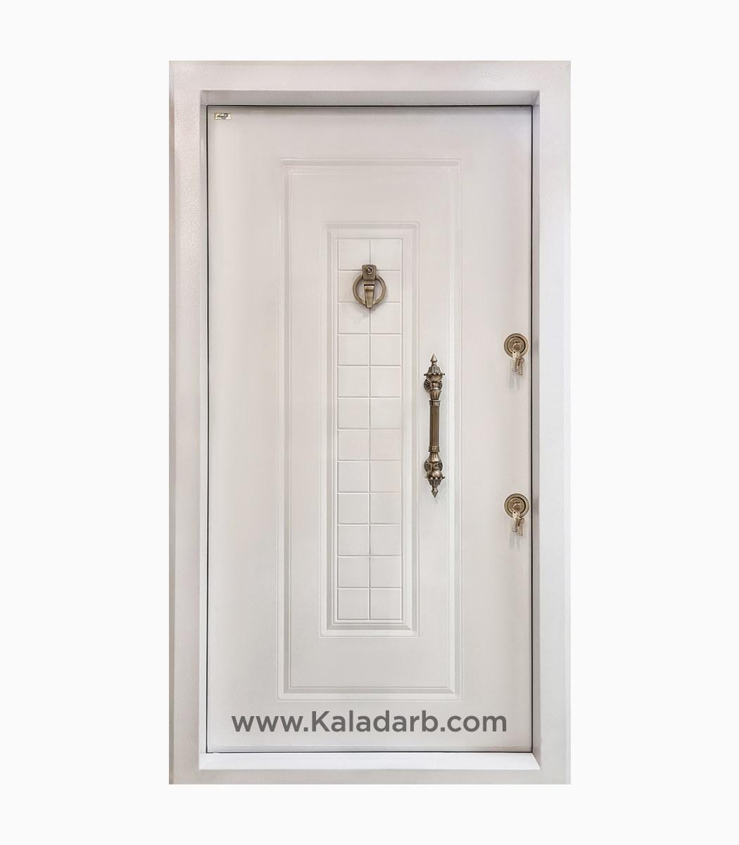 درب ضد سرقت سفید