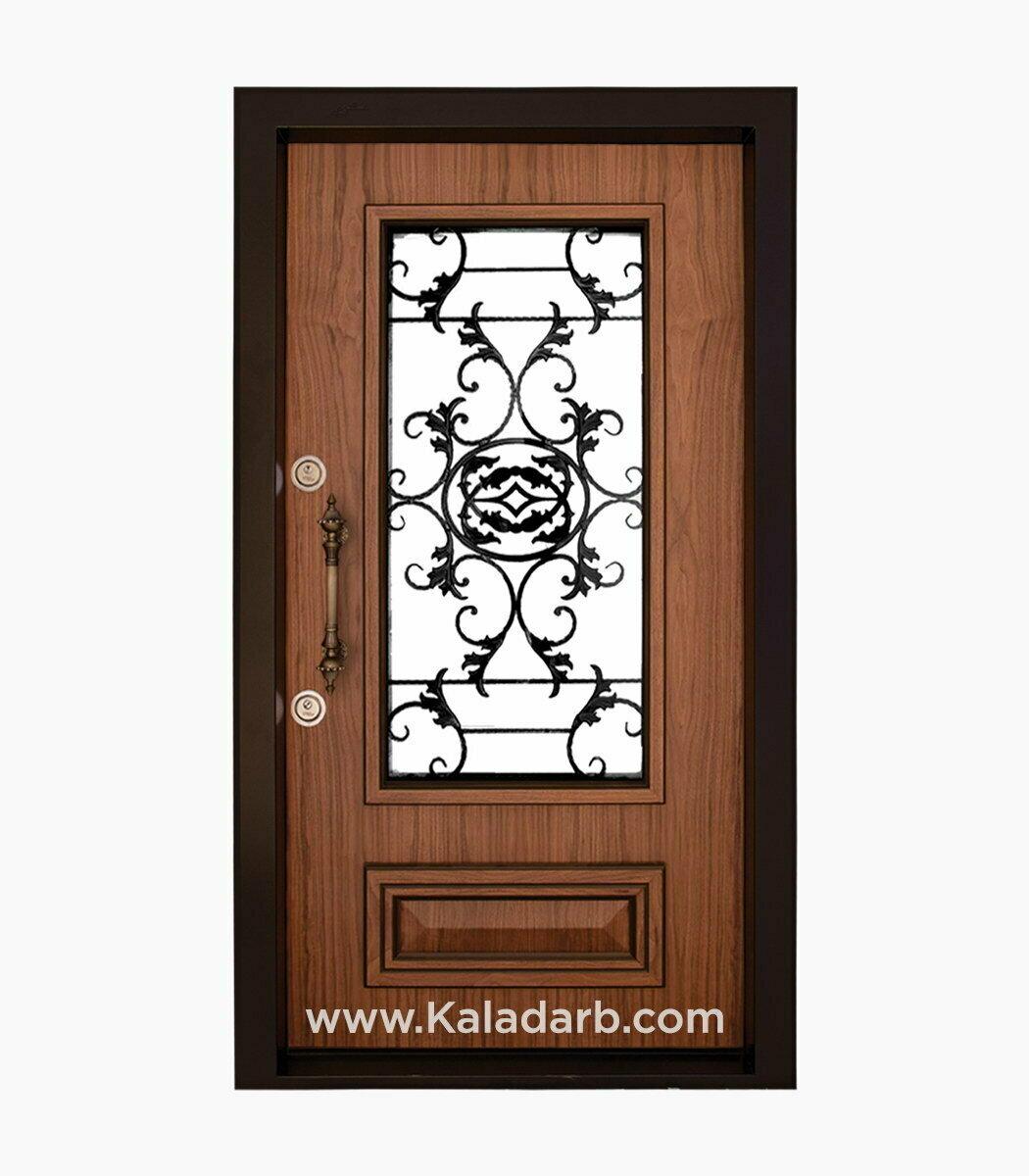 درب ضد سرقت شیشه دار