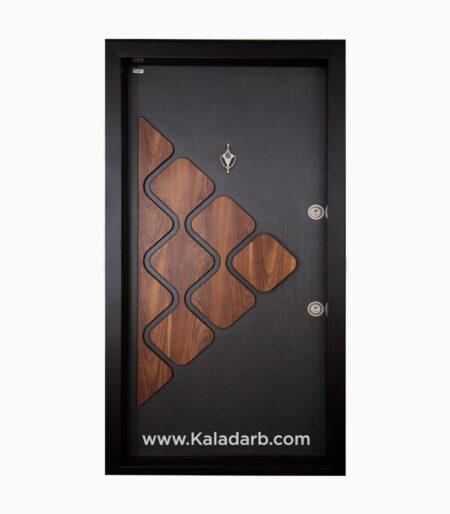 درب ضد سرقت خاکستری