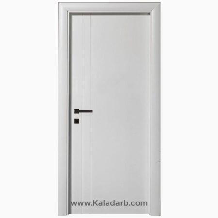 درب اتاقی سفید مدرن