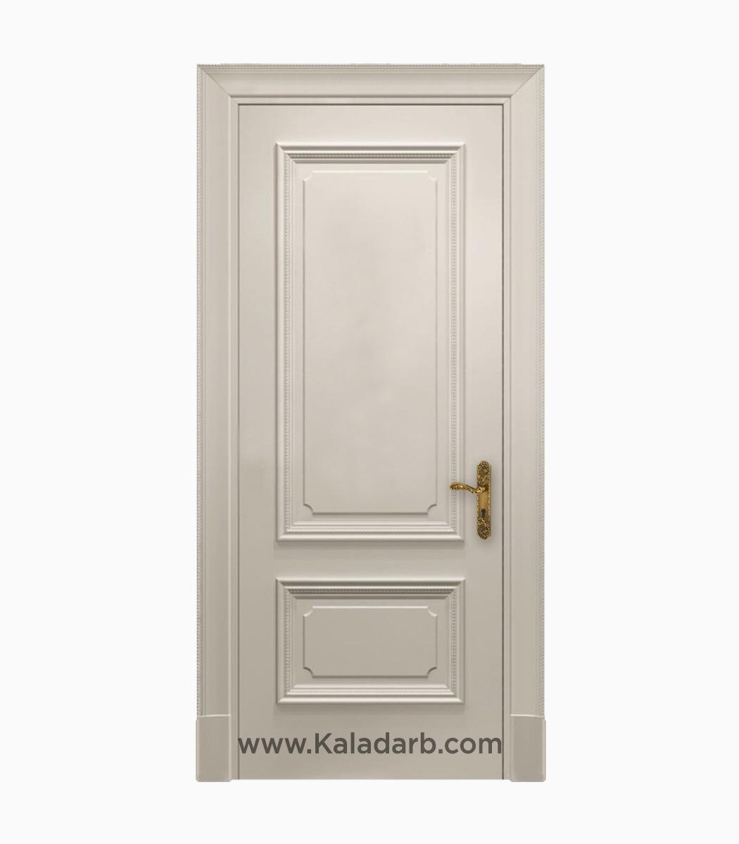 درب اتاق سفید