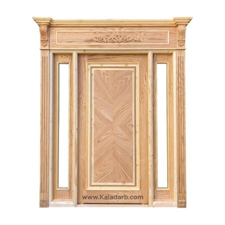 درب لابی چوبی